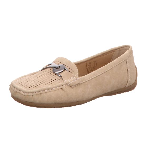 Alyssa Damen-Slipper Beige