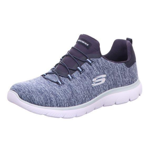 Skechers Damen-Sneaker-Slipper Summits Quick Getaway Blau
