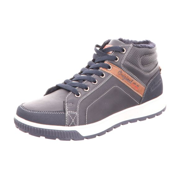 living UPDATED Herren-Schnürstiefel Blau