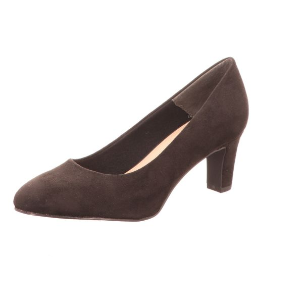 Tamaris Damen-Pumps Schwarz