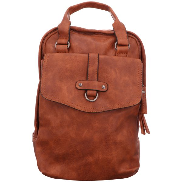 Jewels of Style Damen-Rucksack Braun