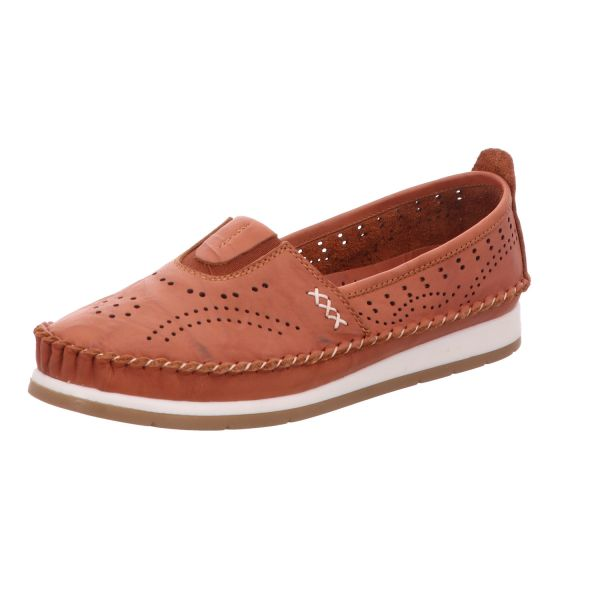 Cosmos Damen-Slipper-Slip-On Braun