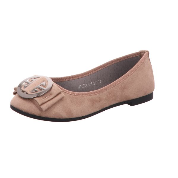 living UPDATED Damen-Ballerina Beige